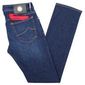 JACOB COHËN  Mid Blue J688 Slim Fit Jeans